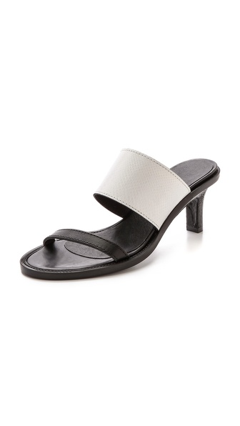 Helmut Lang Benday Sandals