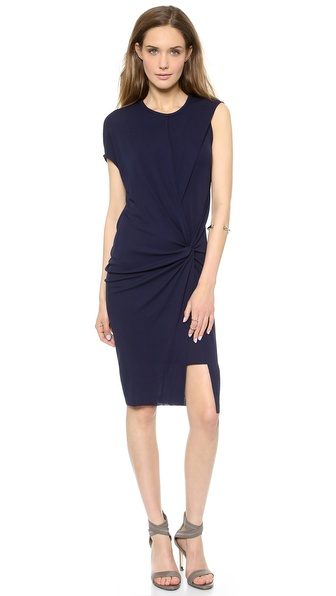 Helmut Lang Deep Twist Dress