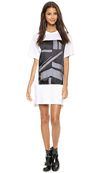 Helmut Lang T-Shirt Dress