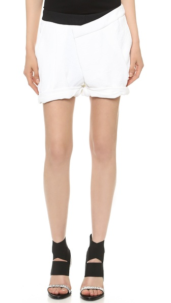 Helmut Lang Origami Shorts