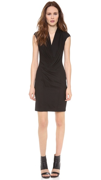 Helmut Lang Cinder Wool Dress