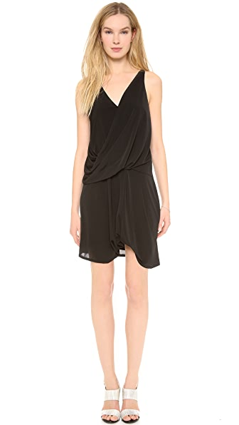Helmut Lang Slink Drop Hem Dress