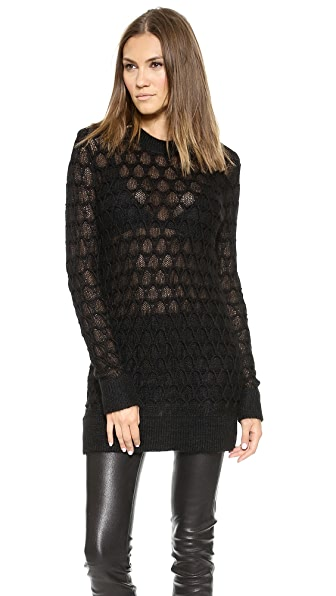 Helmut Lang Corded Lace Pullover