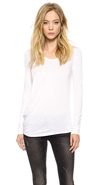 Helmut Lang Kinetic Jersey Long Sleeve Tee