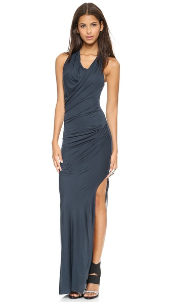 Helmut Lang Maxi Dress with Slit