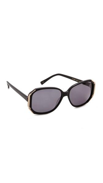Heidi London Geometric Oversized Sunglasses