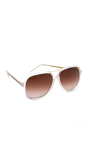 Heidi London Oversized Aviator Sunglasses