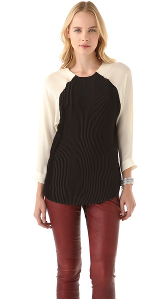 Heidi Merrick Mariano Blouse
