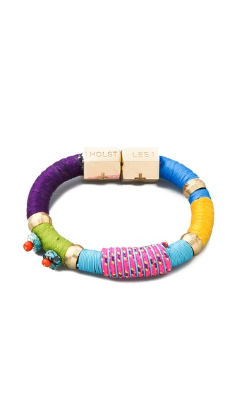 Holst + Lee Beaded Colorblock Bracelet