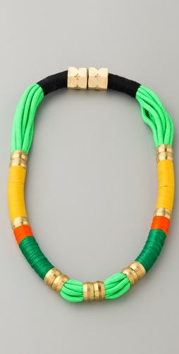 Holst + Lee Short Colorblock Necklace