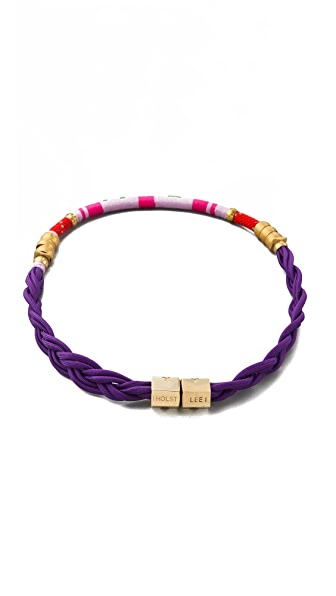 Holst + Lee Yigal Braided Belt / Necklace