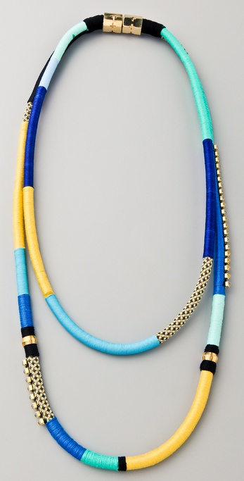 Holst + Lee Two String Multi-Strand Necklace