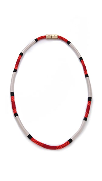 Holst + Lee Coral Snake Necklace