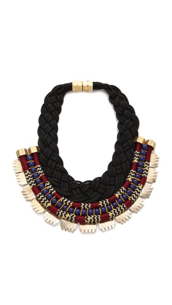 Holst + Lee Cleopatra Plate Necklace