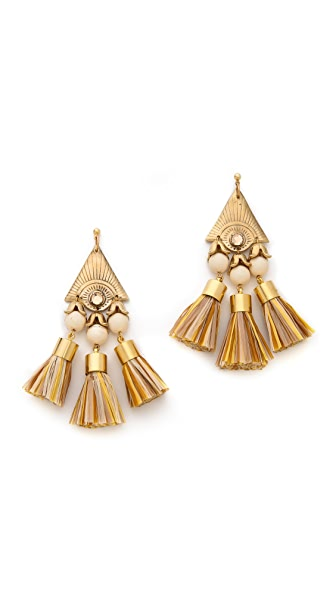 Holst + Lee Tiki Earrings