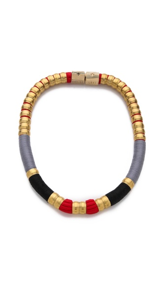 Holst + Lee Coquette Colorblock Necklace