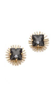 Holst + Lee Crystal Stud Earrings