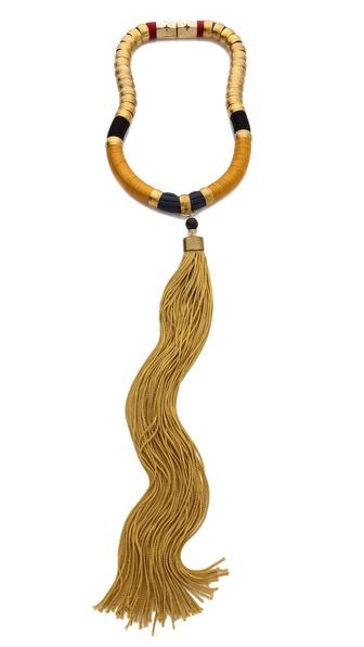 Holst + Lee Heroine Tassel Necklace