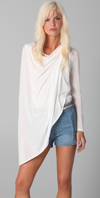 Holy Tee Ames Wrap Top