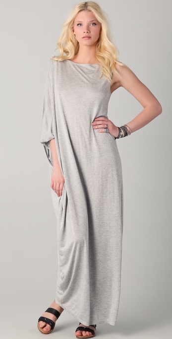 Holy Tee Cleo Single Sleeve Caftan Dress