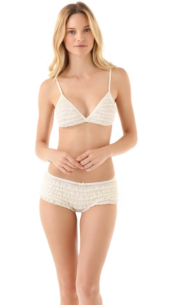 Honeydew Intimates Ruffle Bralette