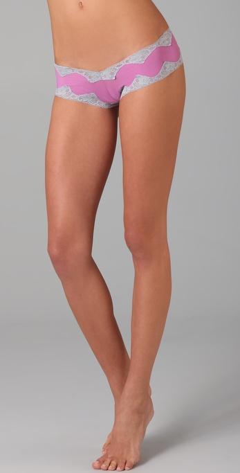 Honeydew Intimates Fine Mesh Boy Shorts