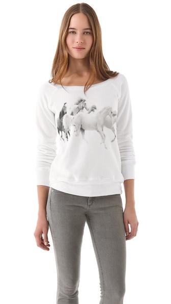 Horseworship Apparel We Run with the Arabians Sweatshirt