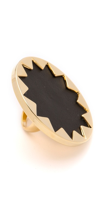 House of Harlow 1960 Sunburst Cocktail Ring