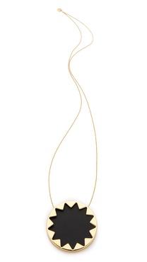 House of Harlow 1960 Sunburst Pendant Necklace