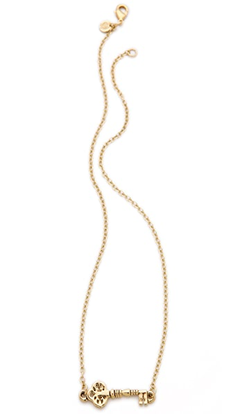 House of Harlow 1960 Mini Key Necklace