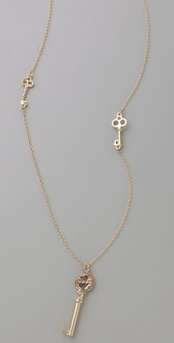 House of Harlow 1960 Long Key Necklace