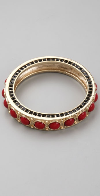 House of Harlow 1960 Cabochon Bangle