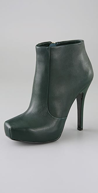 House of Harlow 1960 Leslie Square Toe Platform Booties