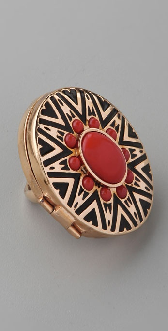 House of Harlow 1960 Tribal Ring
