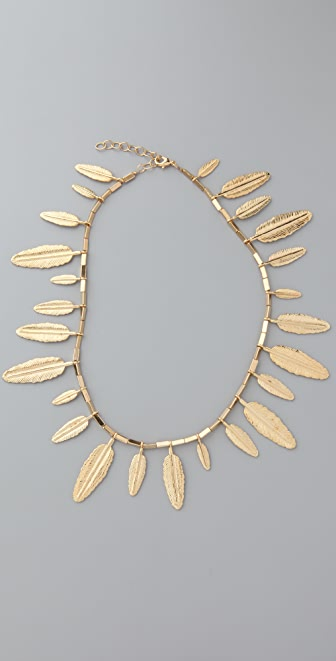 House of Harlow 1960 Feather Necklace