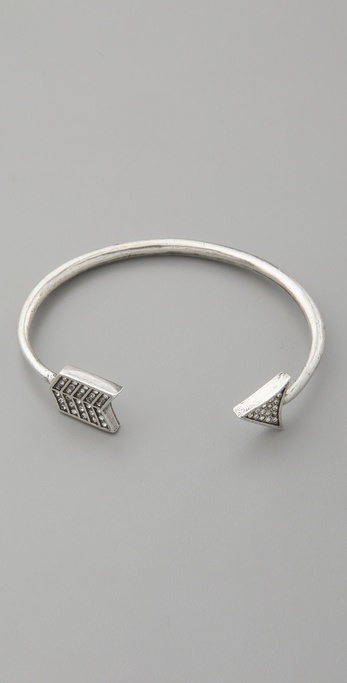 House of Harlow 1960 Pave Arrow Cuff