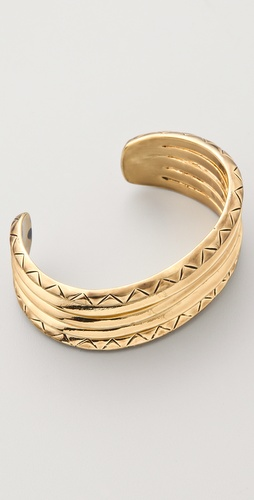 House of Harlow 1960 Etched Stack Cuff
