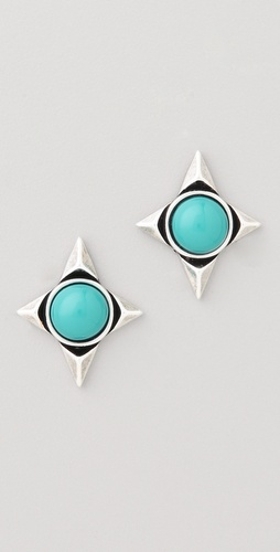 House of Harlow 1960 Star Stud Earrings