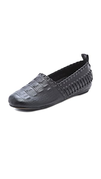 House of Harlow 1960 Kye Whipstitched Flats
