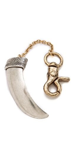 House of Harlow 1960 Horn Keychain