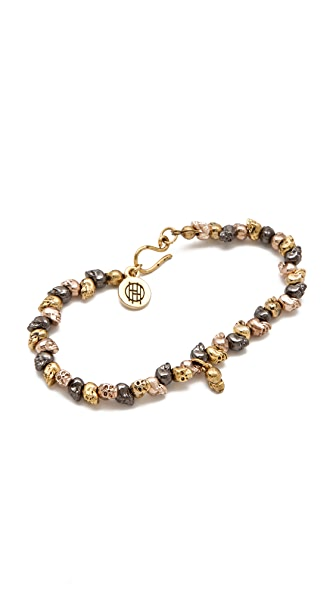 House of Harlow 1960 Multi Skull Bracelet