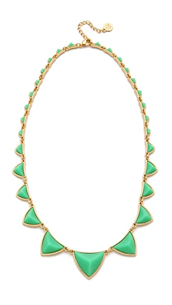 House of Harlow 1960 Pyramid Station Necklace