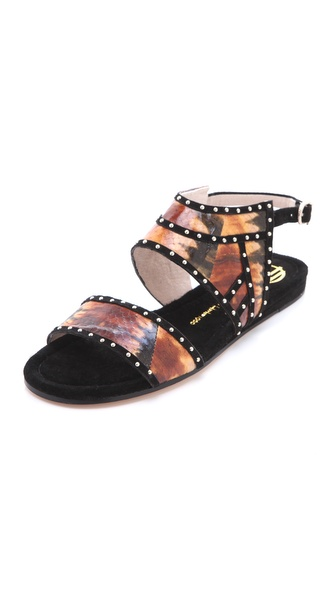 House of Harlow 1960 Abra Flat Sandals