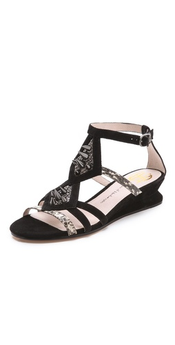 House of Harlow 1960 Celiney Wedge Sandals