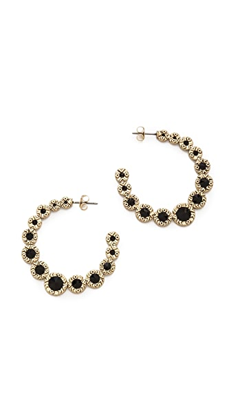 House of Harlow 1960 Olbers Paradox Hoop Earrings