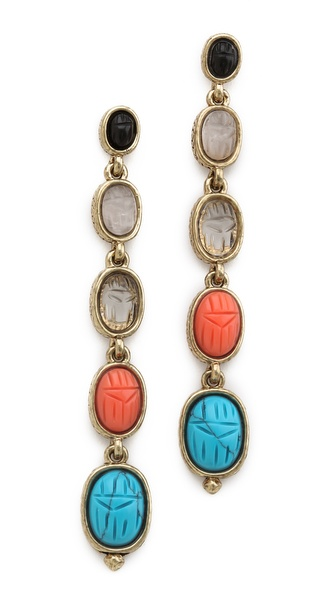 House of Harlow 1960 Renewal of Life Earrings