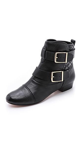 House of Harlow 1960 Jack Double Strap Booties