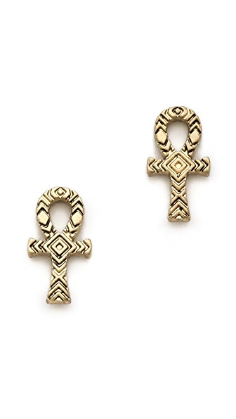 House of Harlow 1960 Knot of Isis Stud Earrings