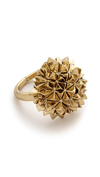 House of Harlow 1960 Crater Cocktail Ring