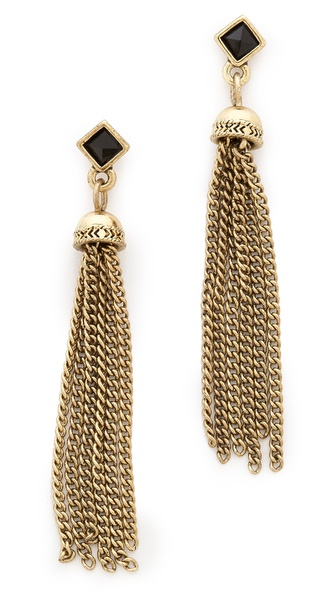 House of Harlow 1960 Chainette Earrings